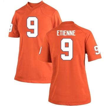Women's Travis Etienne Clemson Tigers Nike Game Orange Team Color College Jersey