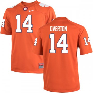 Youth Diondre Overton Clemson Tigers Nike Authentic Orange Team Color Jersey -