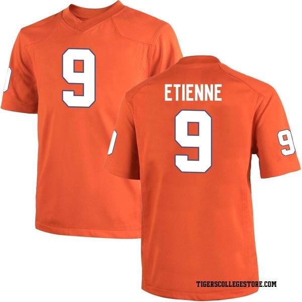 Youth Travis Etienne Clemson Tigers Nike Replica Orange Team Color College Jersey